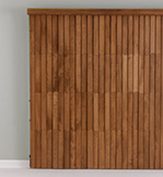 NEW-Wood Vertical Blinds